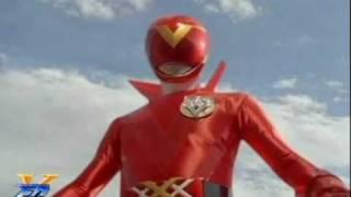 AkaRed Morph - Full transformation of all Red Rangers