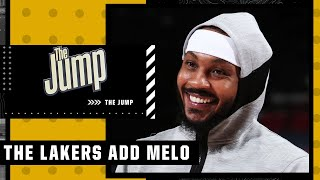 Carmelo Anthony brings what the Lakers need – Ramona Shelburne | The Jump