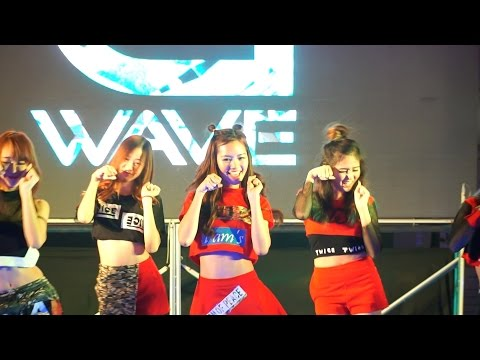 160528 Fossil cover TWICE - CHEER UP + Like OOH-AHH @G-WAVE Cover Dance 2016