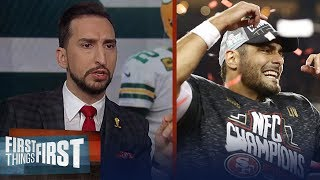 The 49ers annihilated the Packers. I am shocked! — Nick Wright | NFL | FIRST THINGS FIRST