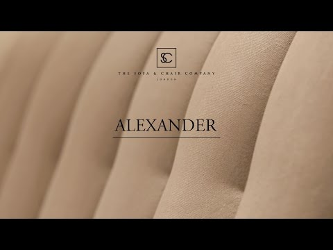 Alexander Bed - The Bedrooms - The Sofa & Chair Company