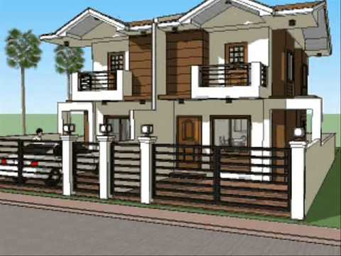 Small House Plan Design Duplex Unit Youtube