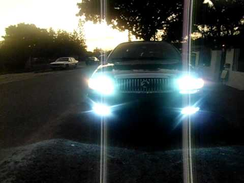 Grand Marquis With Fog Lights Youtube