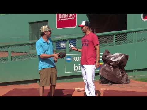 ORVIS - Casting the H3 Fly Rod With Red Sox Pitcher Rick Porcello