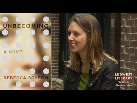 Rebecca Scherm on UNBECOMING at Midwest Literary Walk 2015-1