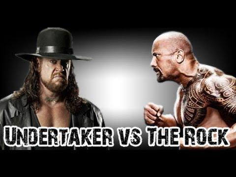 Wwe 2013 Undertaker Vs The Rock Pancadaria Rolando