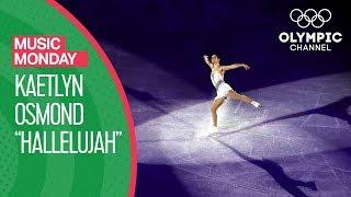 Hallelujah! Kaetlyn Osmond's skates at the PyeongChang 2018 Olympics   Music Monday