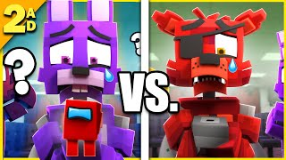 Something Isn't Right Vs. Original | Fazbear and Friends (Minecraft FNAF Animation)