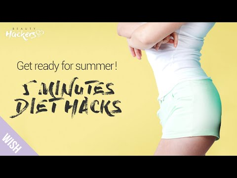 5 Five Minutes Weight Loss Hacks That Actually Work For the Busy People   Beauty HACKers