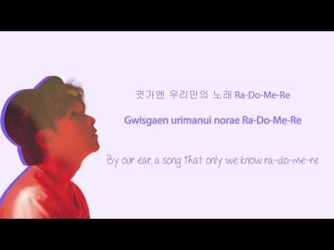 Ryeowook - 그대 (Hello) lyrics (Hangul/Romanization/English)