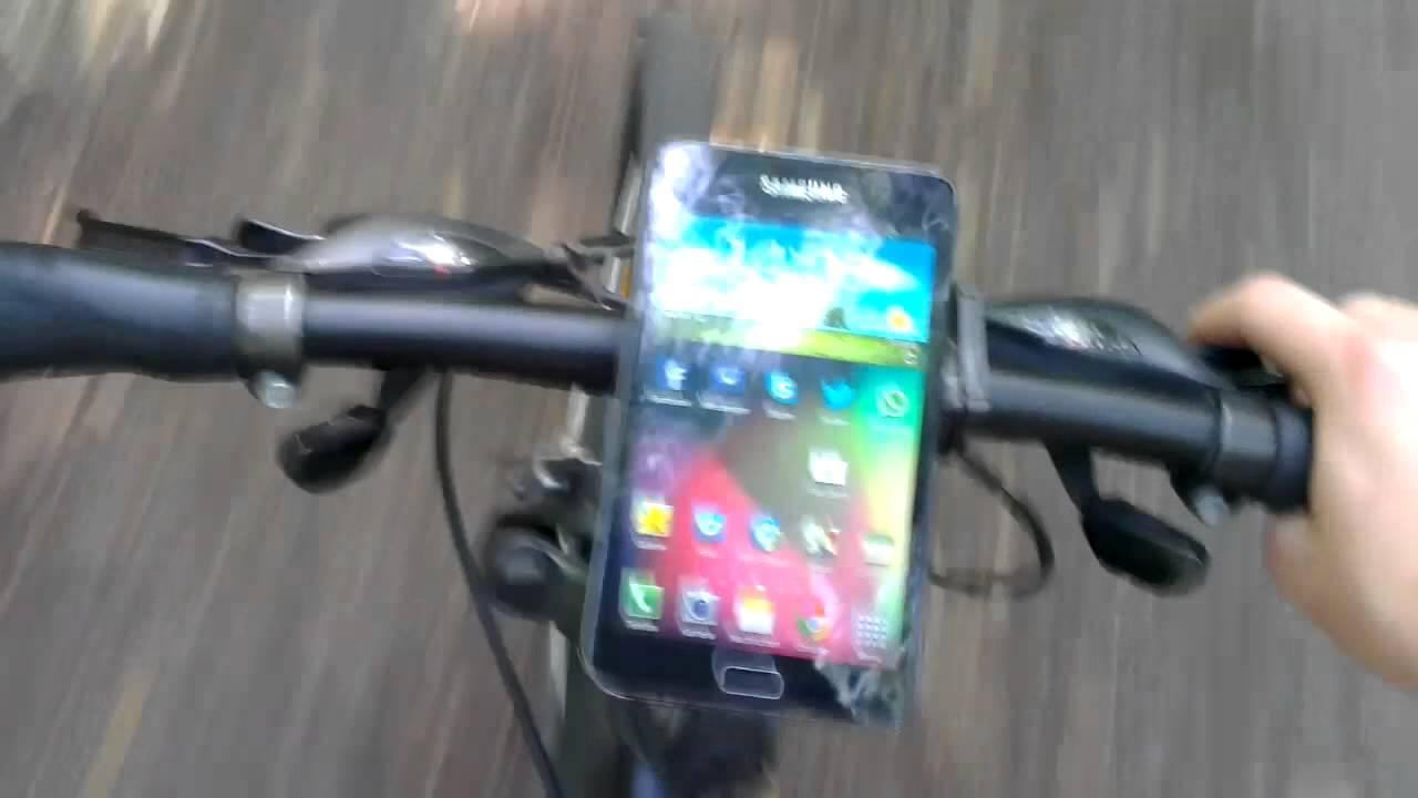 testbericht bikepad smartphone halterung f rs fahrrad. Black Bedroom Furniture Sets. Home Design Ideas