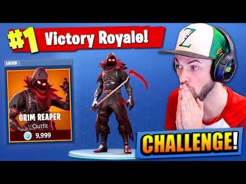 The GRIM REAPER CHALLENGE in Fortnite: Battle Royale!