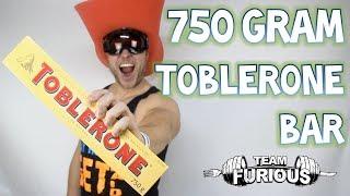 One Man. One 750 Gram Toblerone Chocolate Bar | Furious Pete