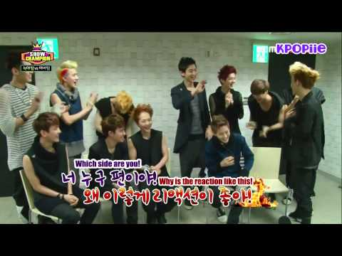 [ENG SUB] 130612 EXO - Show Champion Interview.