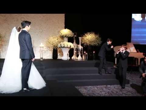 EunHae sing Oppa Oppa At Kyu's Sister wedding