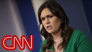 Sarah Sanders' evolution: From push back to hedging answers