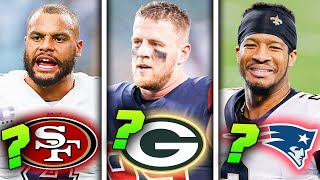 Predicting Where the TOP 25 NFL Free Agents of 2021 Will Land
