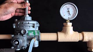 OPSO Gas Pressure Reg - Part 4 Setting the Relief