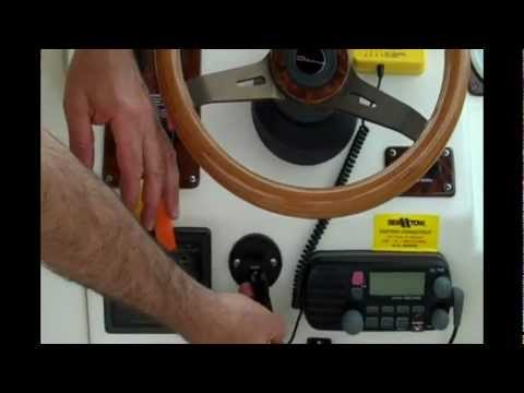 Tutorial on Installing Autotether LLC wireless boat kill switch