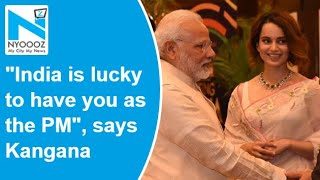 Happy birthday PM Modi: Actress Kangana says India is luck..