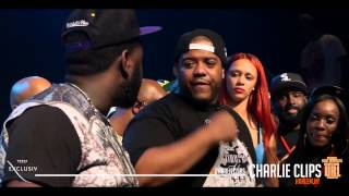 Charlie Clips vs T Rex (Charlie Clips Rounds) SMACK URL #OSB