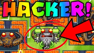 REMATCH Against INFINITE MONEY HACKER! Can I Win Using THE BEST LATE GAME STRATEGY? (BTD Battles)