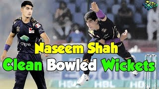 Naseem Shah Clean Bowled Wickets | PSL 2020 | Sports Central | PSX