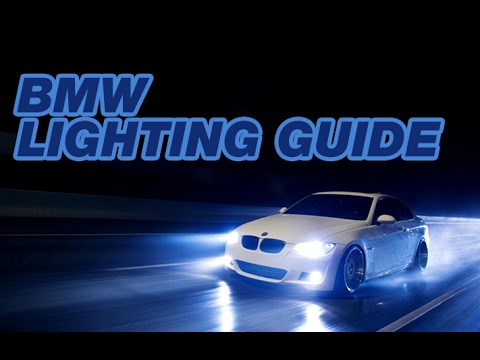 BMW Lighting Guide from Bimmian.com