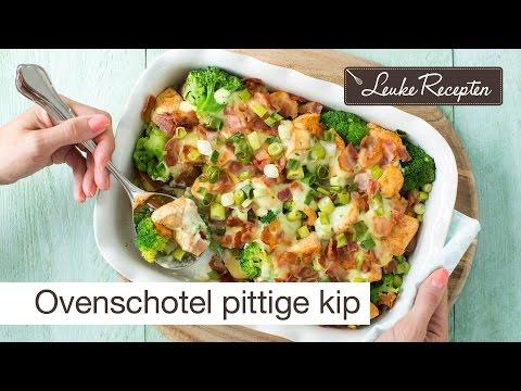 Recept ovenschotel kip