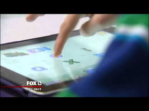 BCOTB Featured on Fox13 in Tampa: App Based Video Games & Autism