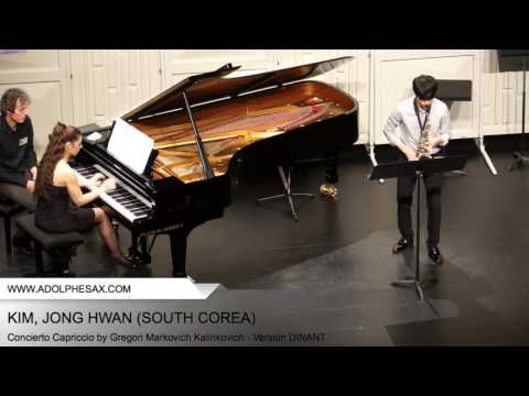 Dinant 2014 - Kim, Jong Hwan - Concierto Capriccio by Gregori Markovich Kalinkovich