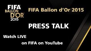REPLAY: Ronaldo, Messi, Neymar PRESS TALK