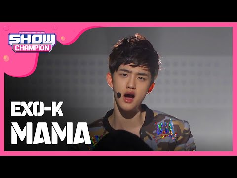 (ShowChampion EP.11)  EXO-K - MAMA (엑소케이 - 마마)