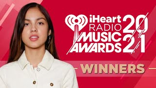 iHeartRadio Music Awards 2021 | Winners