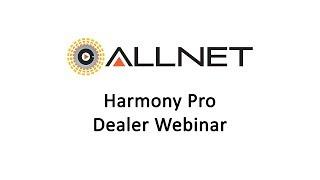Harmony Pro Webinar 2017-06-27