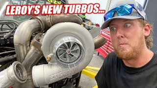 HOLD YOUR FREEDOM... Leroy's New Turbos Have Arrived!!! These Things are SPICY!