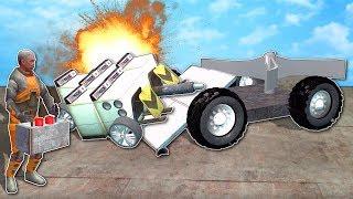 BUILDING BATTLE BOTS! - Garry's Mod Gameplay - Gmod RC Battle Bots Challenge!