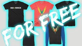 DIY Logan Paul Merch! Get Maverick Merch FOR FREE!!!