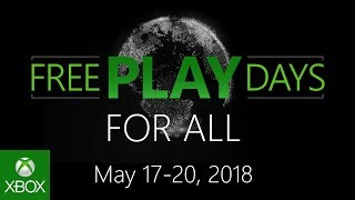 Xbox Live Free Play Days are here all weekend