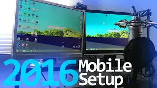2016 Mobile Gaming Recording + Streaming Setup! (Specs + Stats) My Equipment!