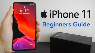 iPhone 11 – Complete Beginners Guide
