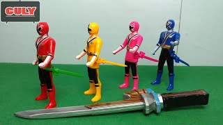 Power Rangers Samurai Sentai Shinkenger figure toy for childrens
