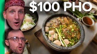 $2 PHO vs $100 PHO - Northern VS Southern Pho! (Có phụ đề Tiếng Việt)