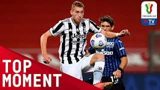 Kulusevski's fine finish in the 31st minute!   Atalanta 1-2 Juventus   Top Moment   TIMVISION CUP