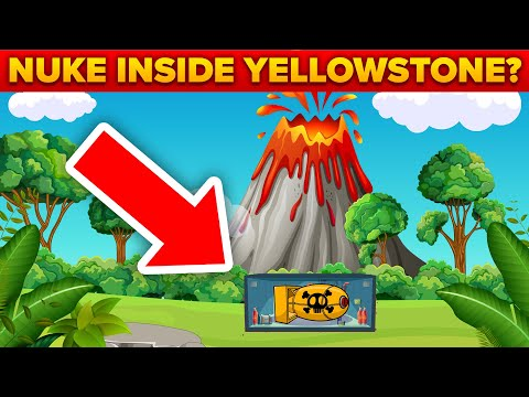 What If We Put A NUKE Inside Yellowstone Volcano?