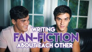 Writing DIRTY Fan-Fiction About Each Other