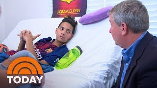Anthony Borges: Parkland Shooting Hero Speaks Out For The First Time After Nine Surgeries | TODAY