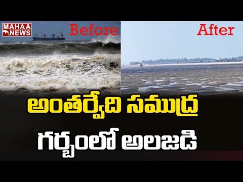 Viral Video: Sea disappears suddenly in Antarvedi, East Godavari