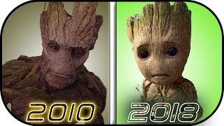 EVOLUTION of GROOT in Movies, Cartoons, TV (2010-2018) Groot history
