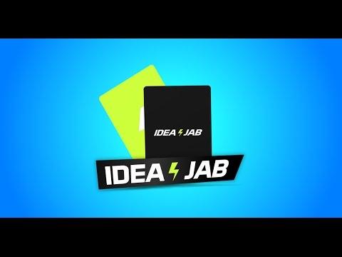 Idea Jab - The Business Idea Card Game (Available now on Kickstarter!)